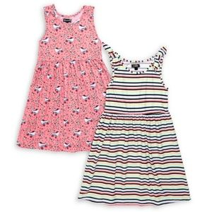 *2T Only* Picapino Toddler Girl 2 Skater Dress Set